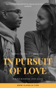 In pursuit of love cover